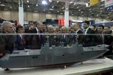 Cumhurbaşkanı Erdoğan, Beylikdüzü TÜYAPta, 12. Uluslararası Savunma Sanayi Fuarının açılışını yaptı