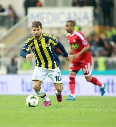 Sivasspor - Fenerbahçe Maçından En Güzel Fotoğraflar