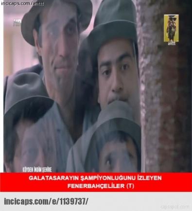 Galatasaray Şampiyon Oldu, Capslar Patladı
