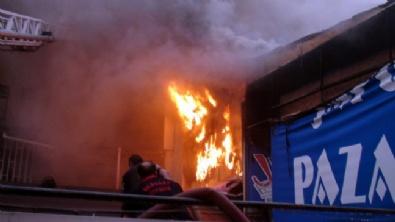 Aksaray'da Yangın