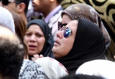 Mısır Başsavcısı Hişam Berekatın Cenaze Töreni