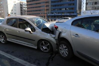 Şişli'de Zincirleme Trafik Kazası