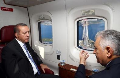 Erdoğan Mega Projeleri İnceledi
