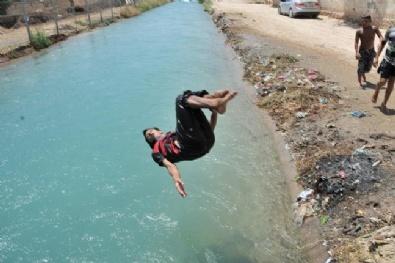 Şanlıurfa'da Sıcak Hava Bunaltıyor