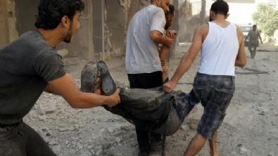 Esed Ordusu Pazar Yerine Bomba Yağdırdı