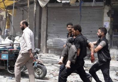 Suriyede Pazar Yerine Bombalı Saldırı