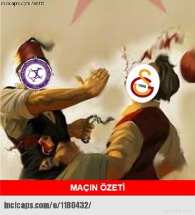 Galatasaray - Osmanlıspor Capsleri