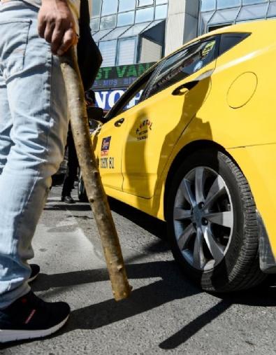 İstanbul Otogarı'nda Taksici Denetimi