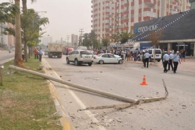 Adana'da İnanılmaz Kaza