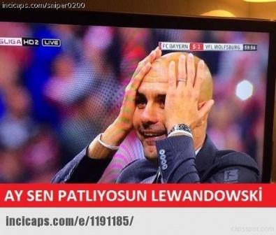 Sosyal Medyada Lewandowski Çılgınlığı!