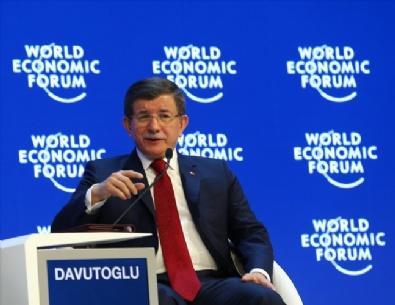 SARE DAVUTOĞLU - Başbakan Davutoğlu Davos'ta