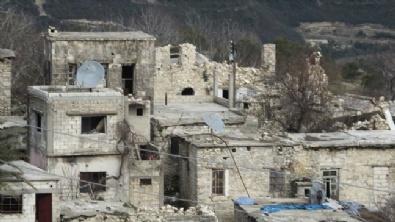 LAZKİYE - Harabeye Dönen Türkmen Köyleri Havadan Görüntülendi