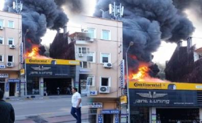 Bursa'da korkutan büyük yangın!