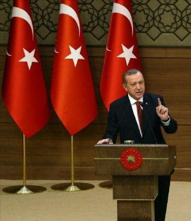 Cumhurbaşkanı Recep Tayyip Erdoğan, 29. Muhtarlar Toplantısında muhtarlara hitaben konuşma yaptı