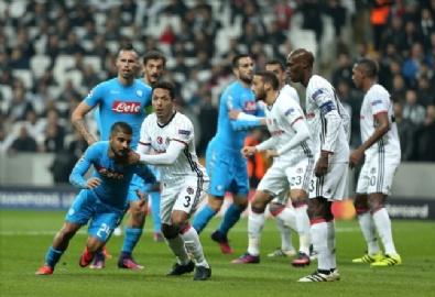 Beşiktaş - Napoli maçından en güzel kareler