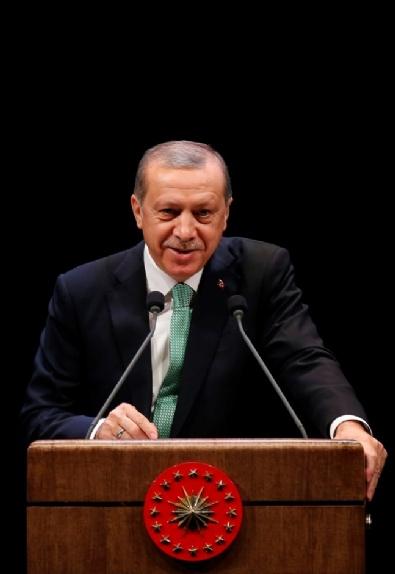 Cumhurbaşkanı Erdoğan Ödül Töreninde Bir Konuşma Yaptı