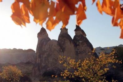 KAPADOKYA - Kapadokya'da Sonbahar Güzelliği