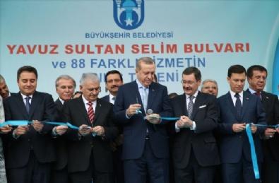 YAVUZ SULTAN SELİM - Ankara'da Büyükşehirin 88 Hizmeti Törenle Açıldı