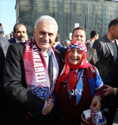 Başbakan Binali Yıldırım Trabzon'da