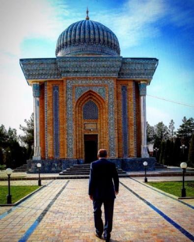 Cumhurbaşkanı Erdoğanın Özbekistan Ziyaretinden En Güzel Kareler