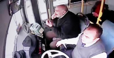 Halk Otobüsüne Molotoflu Saldırı Güvenlik Kamerasında