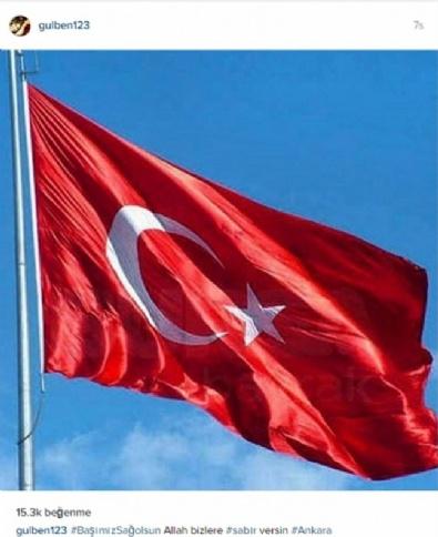Ünlüler Ankara'daki Terörü Lanetledi