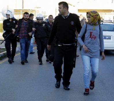 Akdeniz Üniversitesinde Olaylar: 15 Gözaltı