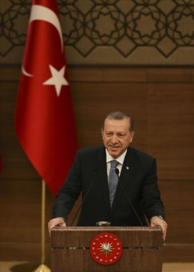 Cumhurbaşkanı Erdoğan Muhtarlar Toplantısına Katılarak Konuşma Yaptı