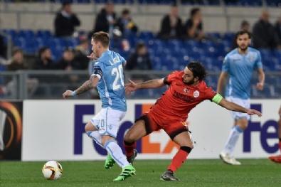 Lazio - Galatasaray Maçından En Güzel Fotoğraflar