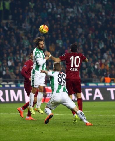 KONYASPOR - Torku Konyaspor - Trabzonspor Maçından En Güzel Fotoğraflar