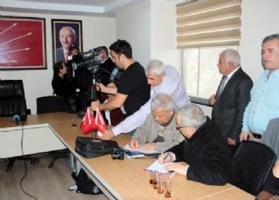 GENEL BAŞKAN - CHP'nin Basın Toplantısında Kriz