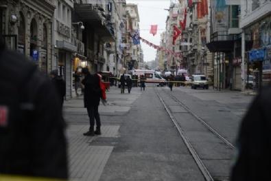 Beyoğlu'ndaki Patlamadan İlk Fotoğraflar