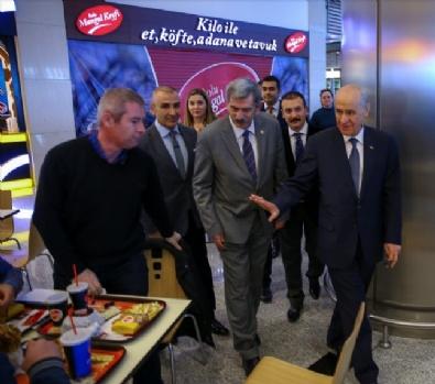 MHP Genel Başkanı Bahçeli AVM Ziyaret Etti