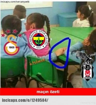 SPOR TOTO SÜPER LIG - Galatasaray - Fenerbahçe Derbi Capsleri Güldürüyor