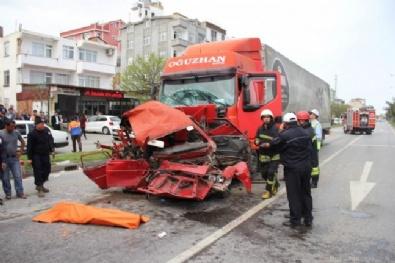 Samsun'da Korkunç Kaza