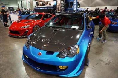 LOS ANGELES - ABD'li Modifiye Otomobil Tutkunları AutoCon Fuarında Buluştu