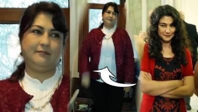 DİZİ OYUNCUSU - Ünlü oyuncu Gülçin Hatıhan 8 ayda 60 kilo verdi