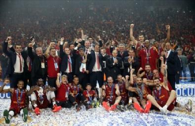 BASKETBOL TAKIMI - Galatasaray Odeabank Eurocup Şampiyonu!
