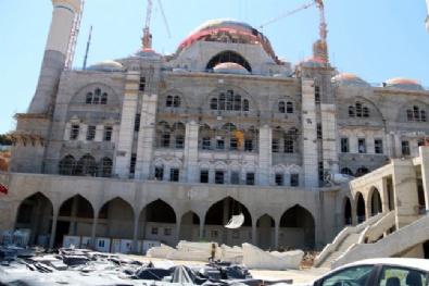 Çamlıca Camisinin İnşaatı Devam Ediyor