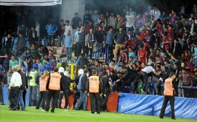 Karabük'te Maç Sonunda Olaylar Çıktı