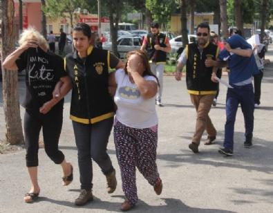 FUHUŞ - Yabancı Uyruklu Kadınları Pazarlayan Şebeke Çökertildi