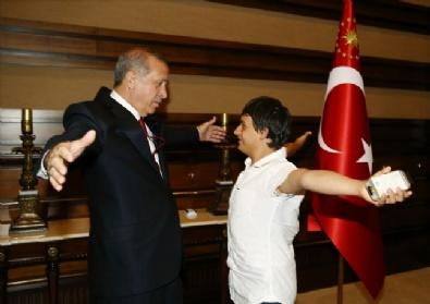 Cumhurbaşkanı Erdoğan Çocuklarla Buluştu