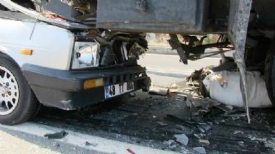 Bodrum'da Zincirleme Trafik Kazası