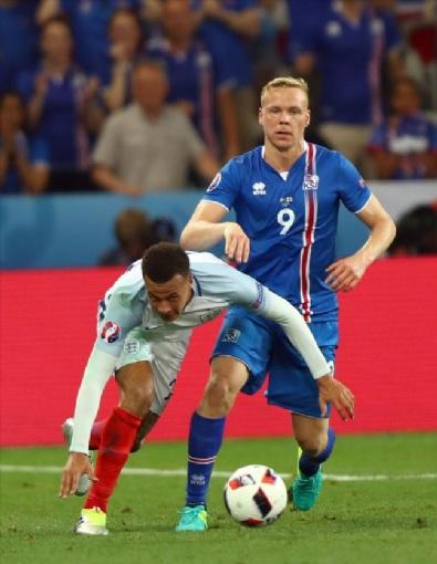 İngiltere - İzlanda Maçından Kareler