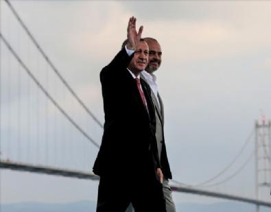 Osmangazi Köprüsü Düzenlenen Törenle Açıldı