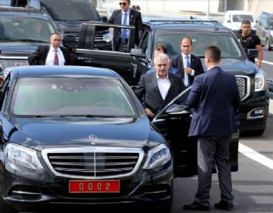 Osmangazi Köprüsü'nden Başbakan Binali Yıldırım Geçti