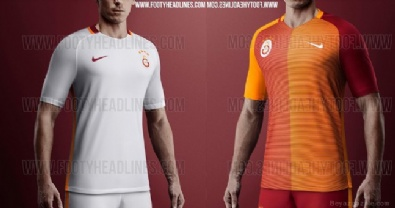 Galatasaray'ın yeni formaları sızdı