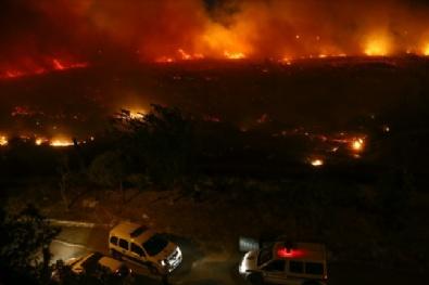 İzmirdeki Yangın Zor Kontrol Altına Alındı