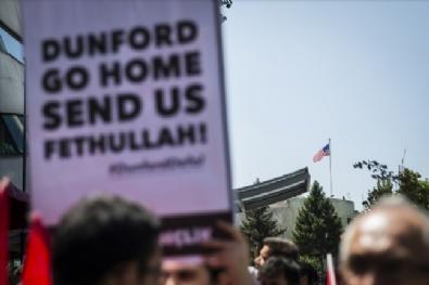 GENELKURMAY BAŞKANI - ABD'nin Ankara Büyükelçiliği Önünde Protesto