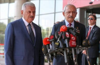 GENEL BAŞKAN - Başbakan Yıldırım-Kılıçdaroğlu Görüşmesi